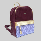 Backpack Leather Purple - Axcan Grape