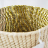 Circular Shape Golden Handmade, boho chic decor by Diario Shop Mexico