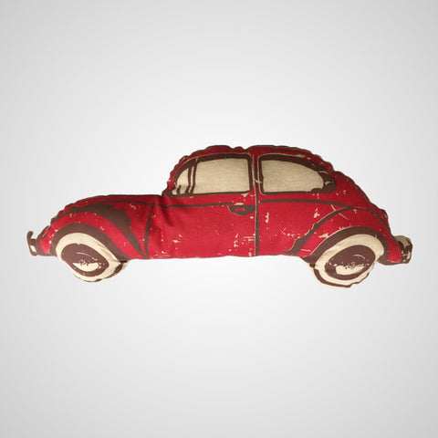 Decorative Pillow VW Beetle Red