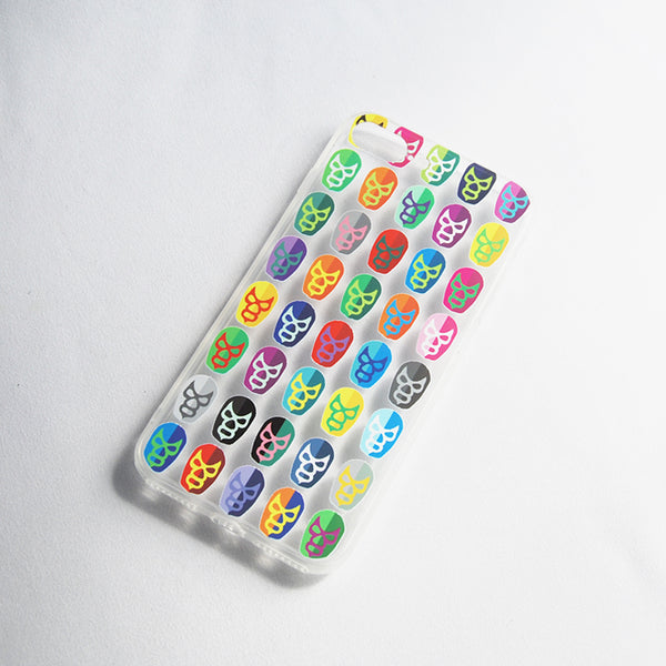 "Mobile Cover Colorful ""Luchador"" Mexican Wrestler Design"