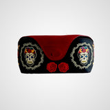 Eyewear leather case - Frida Catrina design, women accessories, leather made in Mexico
