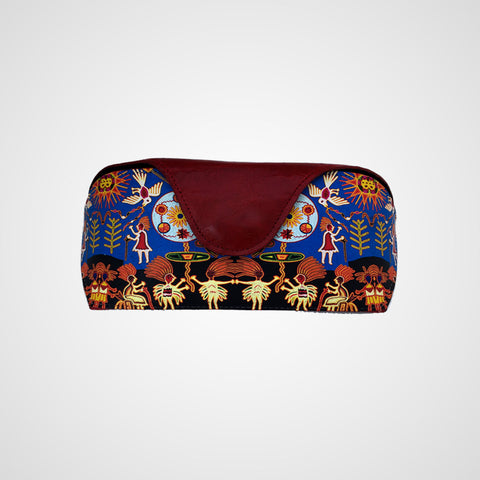 Eyewear Case Huichol Blue