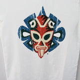 T-Shirt Jaguar Luchador White U Neck for Kids This fun traditional Mexican wrestler (Luchador)T-Shirt print is made of 100% cotton and it comes in white color.