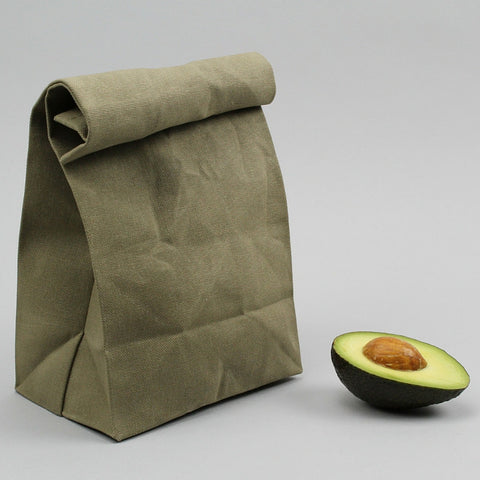 Lunch Bag Vintage Classic Avocado