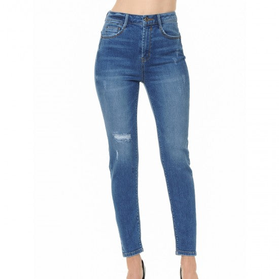 PANTALON MEZCLILLA PUSH UP SKINNY / STRECH 90130