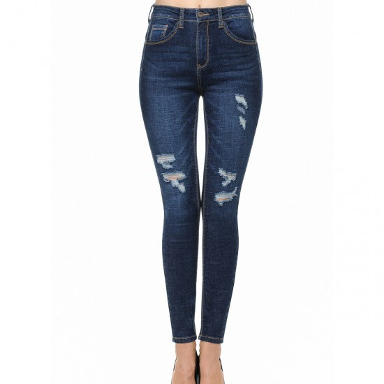 PANTALON MEZCLILLA PUSH UP SKINNY / STRECH 90139