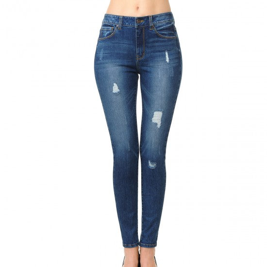 PANTALON MEZCLILLA SKINNY PUSH UP/STRECH 90150