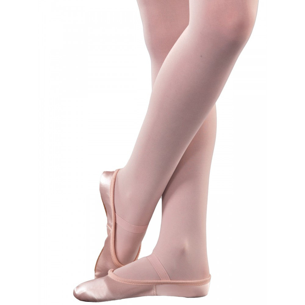 1st Position Pink Satin Ballet Shoes | Dazzle Dancewear Ltd
