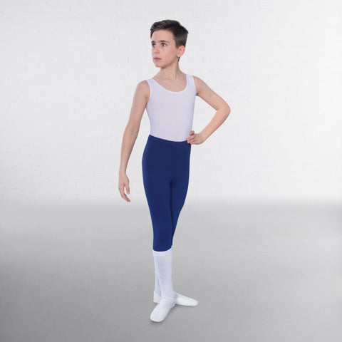 1st Position Male Sleeveless Scoop Neck Ballet Dance Leotard