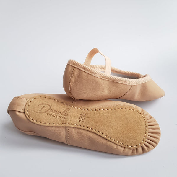 - Dazzle Dancewear Pink Leather Ballet Shoes - Dazzle Dancewear Ltd