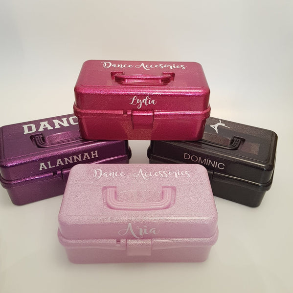 Personalised Ballerina Performance Dance Accessories Storage Box - Dazzle Dancewear Ltd