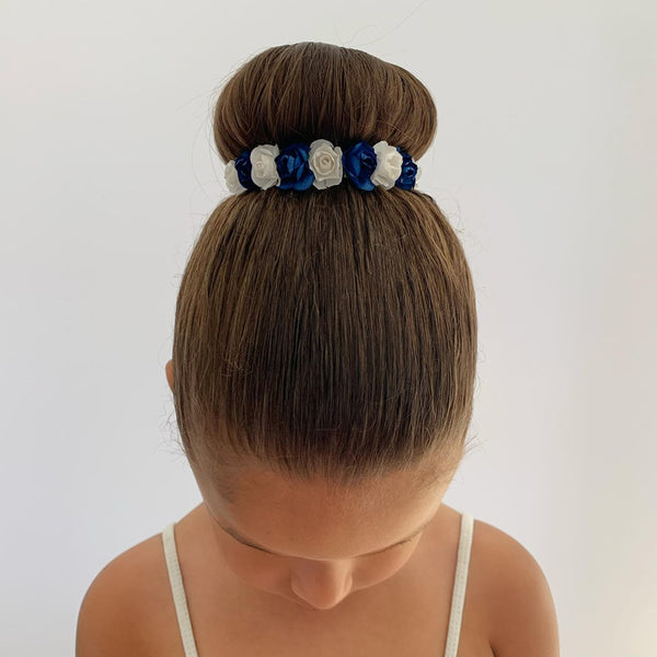 Hand Made Floral Bun Wrap - Dazzle Dancewear Ltd