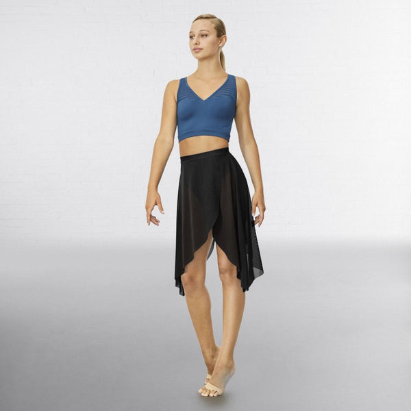 Bloch R3531 Hadlee Back Wrap Skirt - Dazzle Dancewear Ltd