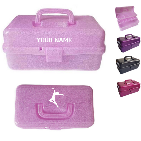Personalised Dancer Performance Dance Accessories Storage Box - Dazzle Dancewear Ltd