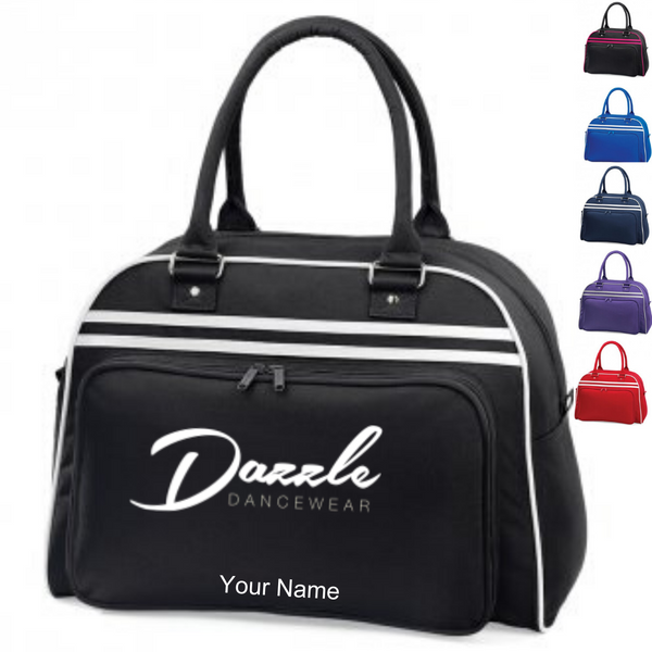 Personalised 'Dazzle Dancewear' Large Dance Bag - Dazzle Dancewear Ltd