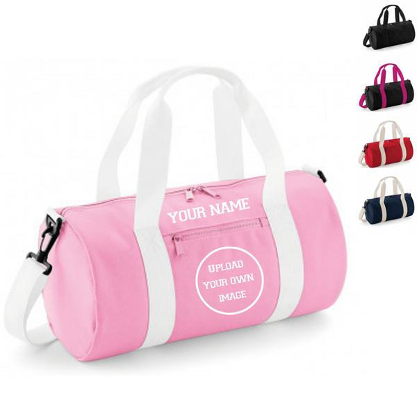 Personalised 'Design Your Own' Barrel Bag