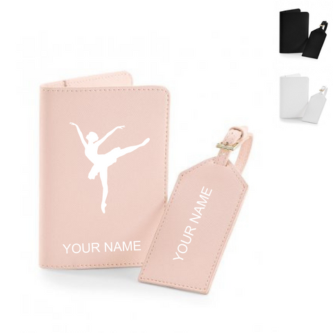 Personalised 'Arabesque Ballerina' Luggage Set - Dazzle Dancewear Ltd