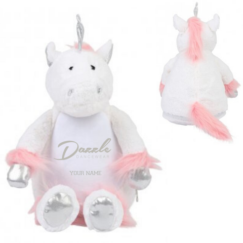 Personalised 'Dazzle Dancewear' Unicorn - Dazzle Dancewear Ltd