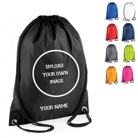Personalised 'Design Your Own' Drawstring Bag