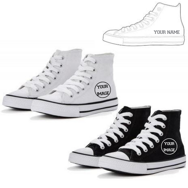 Personalised 'Design Your Own' Hightops - Dazzle Dancewear Ltd
