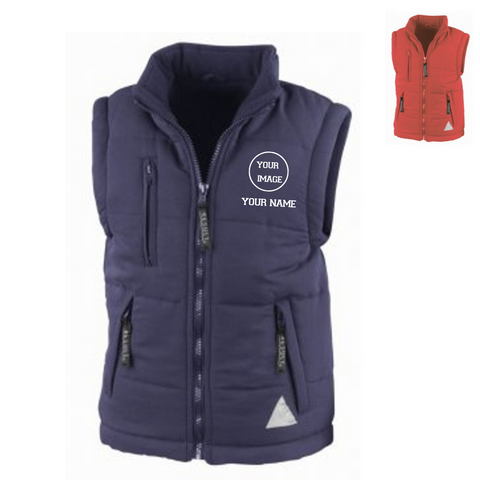Personalised 'Design Your Own' Gilet- Child