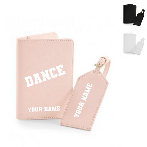 Personalised 'Dance' Luggage Set - Dazzle Dancewear Ltd