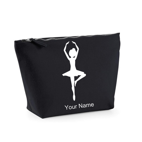 Personalised 'Ballerina' Makeup Bag - Dazzle Dancewear Ltd