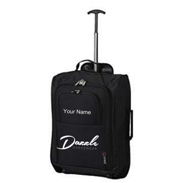Personalised 'Dazzle Dancewear' Suitcase - Dazzle Dancewear Ltd