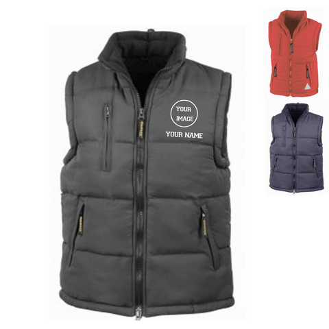 Personalised 'Design Your Own' Gilet- Adult