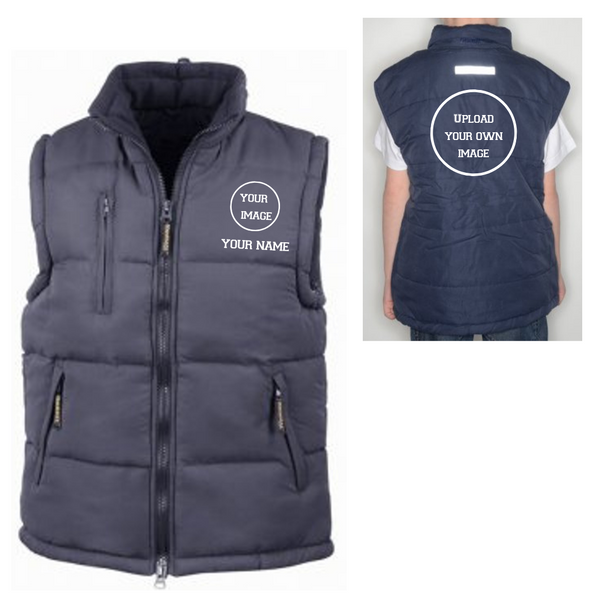 Personalised 'Design Your Own' Gilet- Adult - Dazzle Dancewear Ltd