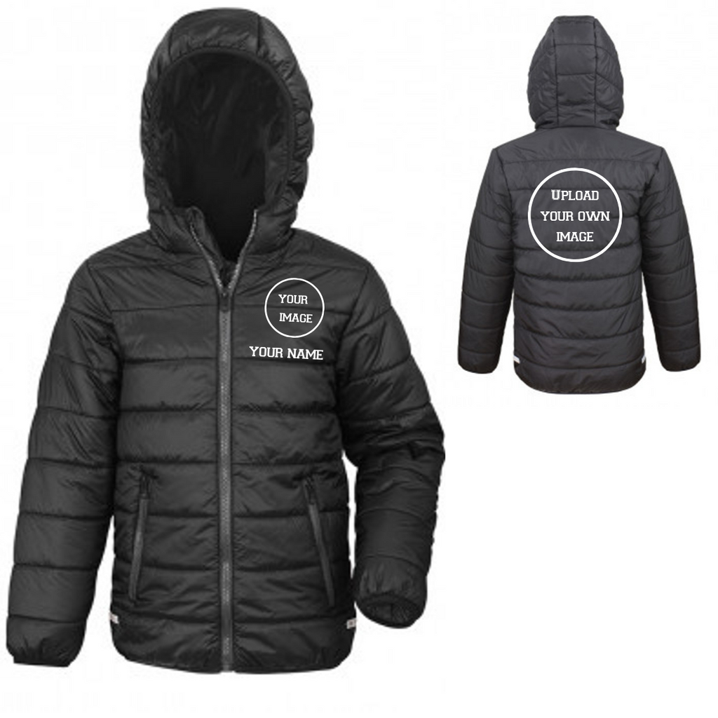 Personalised 'Design Your Own' Puffer Coat- Child - Dazzle Dancewear Ltd