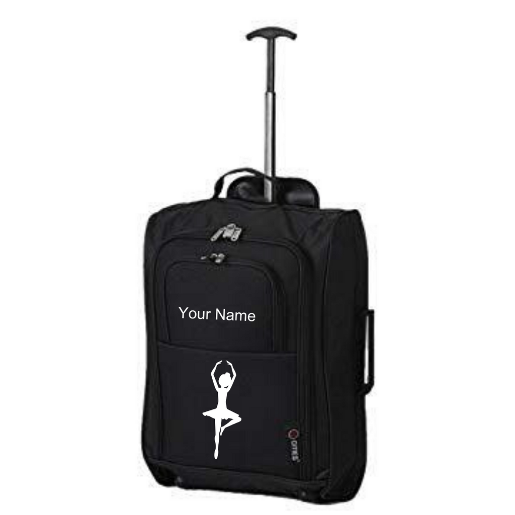 Personalised 'Ballerina' Suitcase - Dazzle Dancewear Ltd