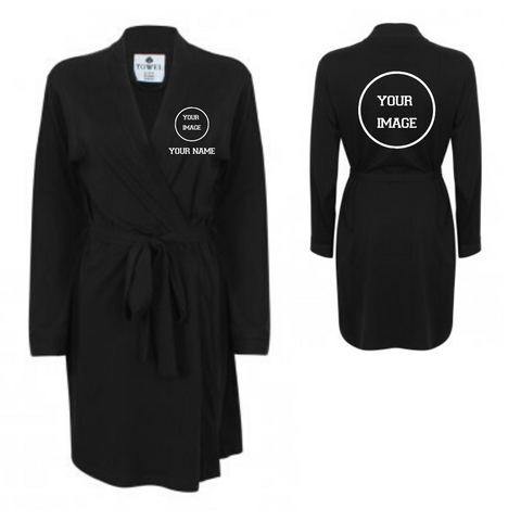 Personalised 'Design Your Own' Dressing Gown - Dazzle Dancewear Ltd