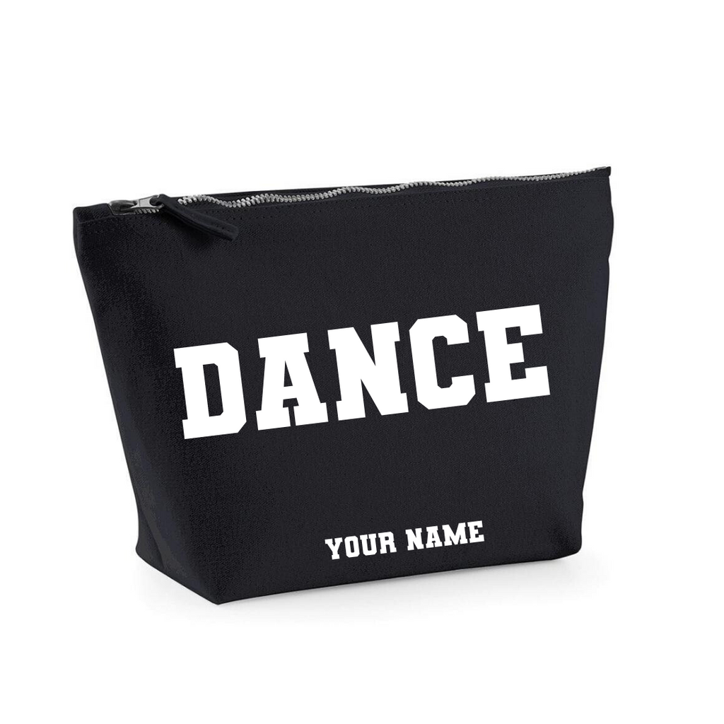 Personalised 'Dance' Makeup Bag - Dazzle Dancewear Ltd