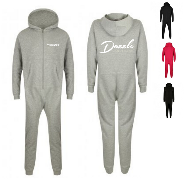 Personalised 'Dazzle Dancewear' Onesie- Adult - Dazzle Dancewear Ltd