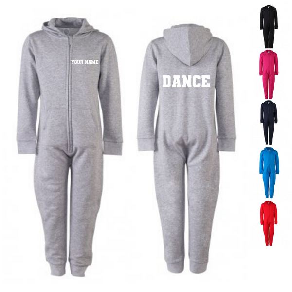 Personalised 'Dance' Onesie- Child - Dazzle Dancewear Ltd