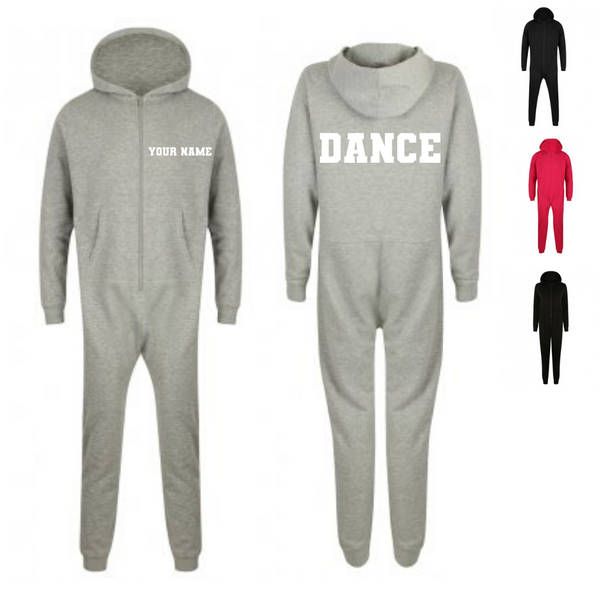 Personalised 'Dance' Onesie- Adult - Dazzle Dancewear Ltd