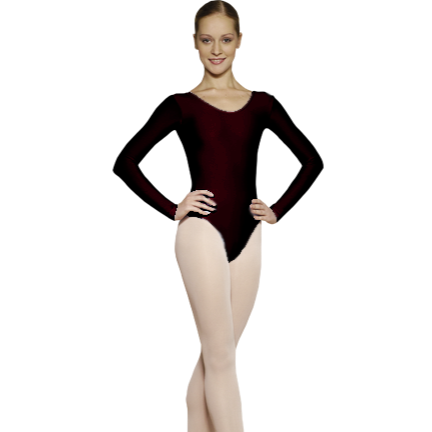 Grishko Cotton Long Sleeved Leotard - Dazzle Dancewear Ltd