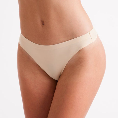 Silky Invisible Seamless Low Rise Thong | Dazzle Dancewear Ltd