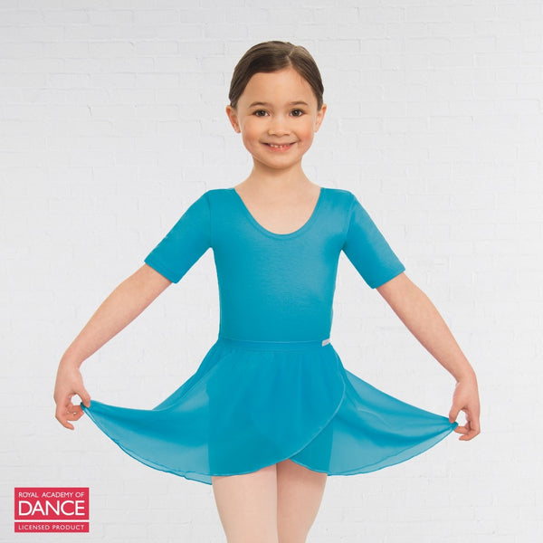 Little Ballerina RAD Approved Wrapover Pre-Primary & Primary in Dance Skirt - Dazzle Dancewear Ltd