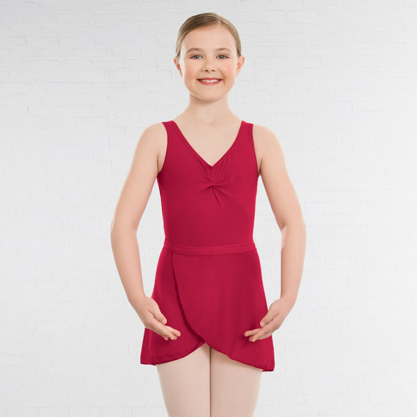 1st Position ISTD Style Wrapover Ballet Dance Skirt - Dazzle Dancewear Ltd