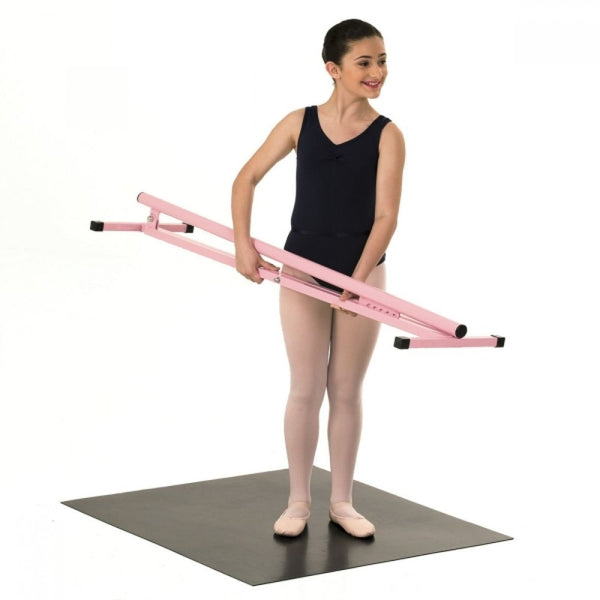 1st Position Pink Portable Ballet Dance Barre - Dazzle Dancewear Ltd
