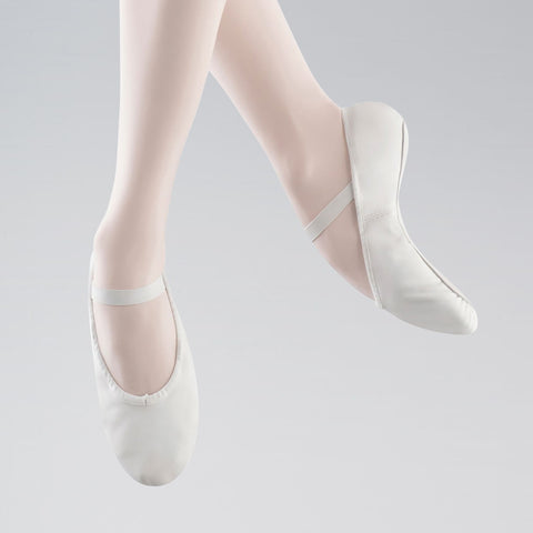 Bloch 209 Arise Full Sole Pink Leather Ballet Shoes