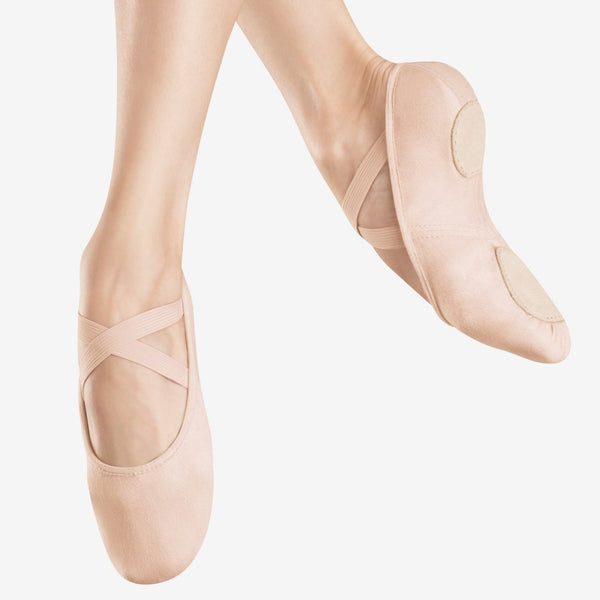 Bloch 220 Canvas Infinity Stretch Ballet Shoes