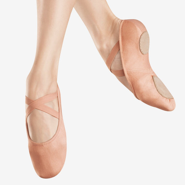 Bloch 220 Canvas Infinity Stretch Ballet Shoes - Dazzle Dancewear Ltd