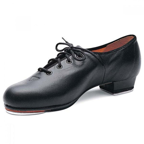 Bloch 301 Black Synthetic Leather Jazz Tap Shoes
