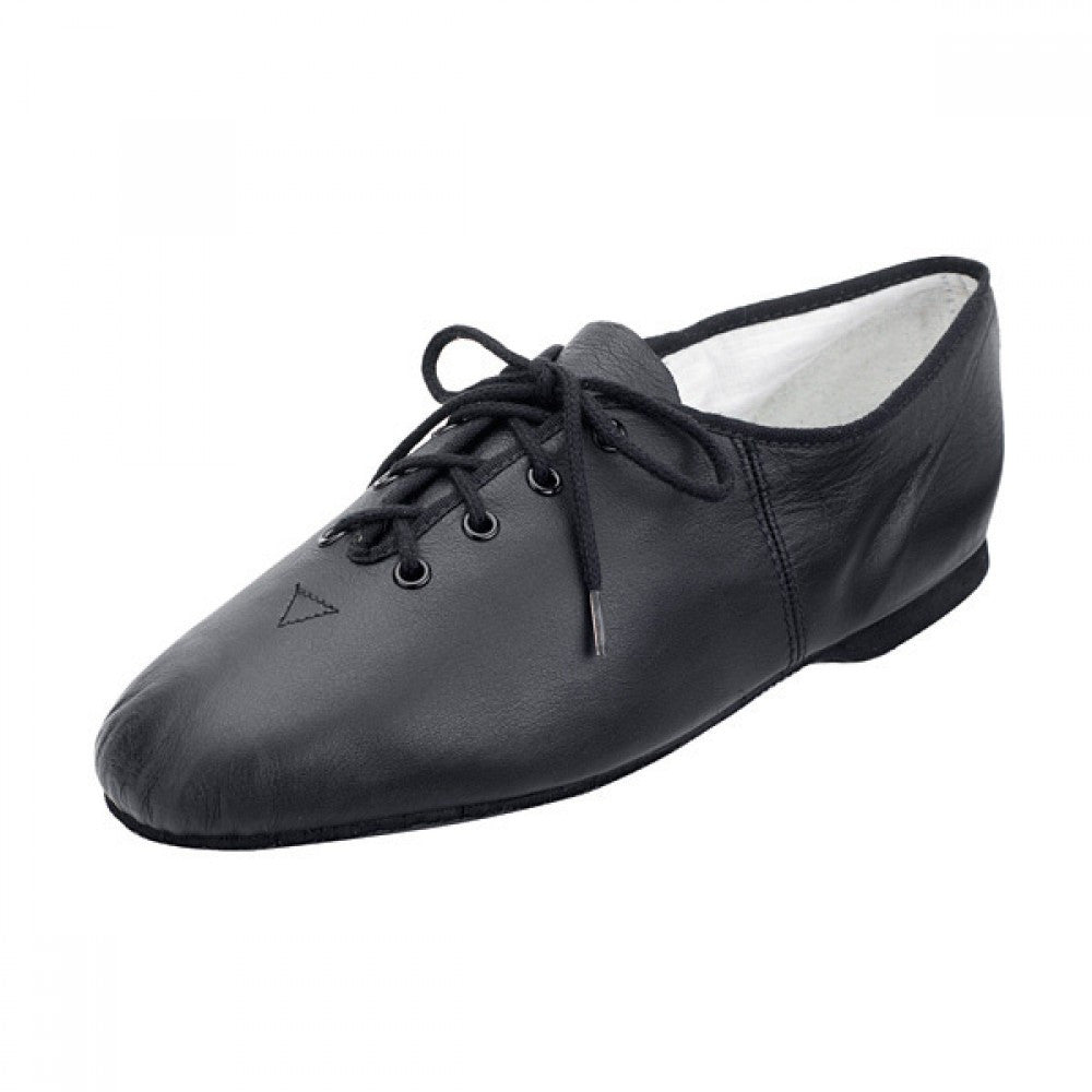 Bloch 462 Essential Black Full Sole Lace Up Jazz Shoe