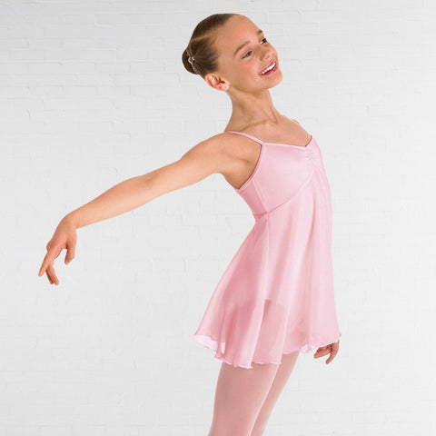 Bloch CL7047 Pink Juliet Skirted Camisole Leotard - Dazzle Dancewear Ltd