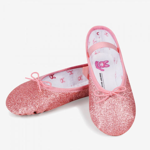 Bloch 0225 Glitterdust Full Sole Ballet Shoe