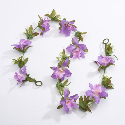 RAD Syllabus Purple Artificial Flower Garland - 1m approx